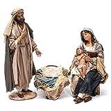 Holyart Natività con Bambino in Braccio Angela Tripi 30 cm