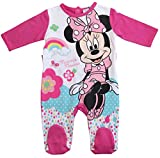 Minnie Mouse Kollektion 2018 Strampelanzug 62 68 74 80 86 92 Strampler Einteiler Maus Disney Fuchsia (Fuchsia, 86-92)