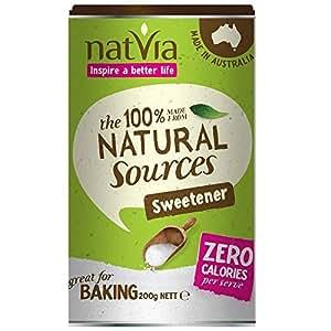 Natvia 100 % Natural Sweetener Canister 300g (Pack of 2)