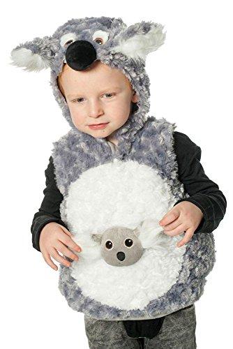 Wilbers Kinder Kostüm Koala Bär Verkleidung zu Karneval Fasching Gr.92