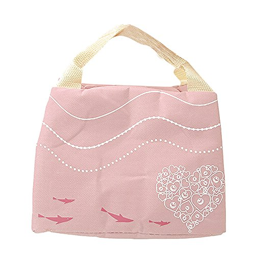 Dtuta Lunchbox Staubdichte Handtasche Der Niedlichen Einfarbigen Isolierung Wasserdichte Kalte Isolierungssegeltuch