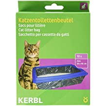 Kerbl Bolsas para arenero XL hasta 59 x 46 cm, envase de 10 uds.