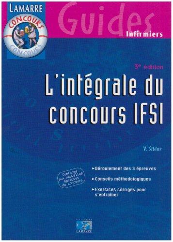 L'intégrale du concours IFSI