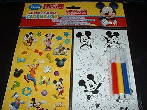 Mickey Mouse Clubhouse Ausmalbare Aufkleber Set