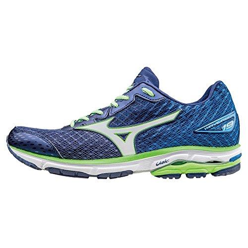 Mizuno Wave Rider 19, Zapatillas de running para hombre,  azul (twilig
