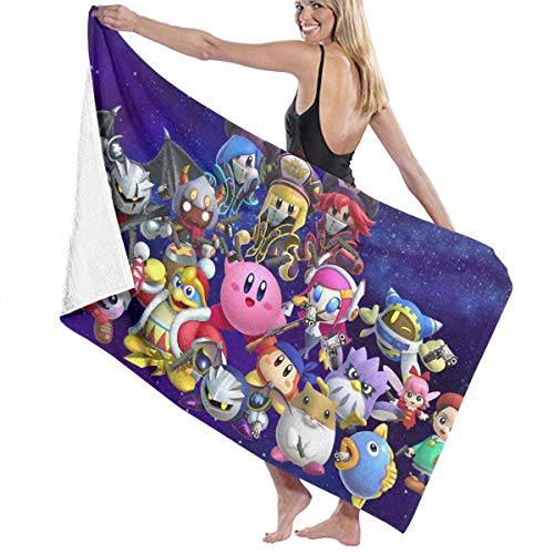 Kirby-cover (Duyhat Kirby Cotton Beach Towel Luxury Microfiber Absorbent Bath Towels Quick-Drying Towel Blanket for Women,Kids£¬Men)