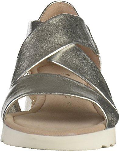 Donne Calzature Caviglia Sportivi Cinghia Alla Gabor Multicolore Sandali iuta Silber Comfort 7xq8Cnwg