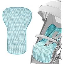 HOT Ersatz Sitzeinlage Sitzauflage Sitzschoner Pad für Kinderwagen Autositz Lila