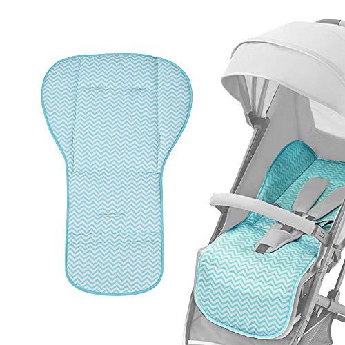 Baby Sitzauflage Universal Kinderwagen Atmungsaktive Sitzeinlage für Kinderwagen, Buggy, Kindersitz und Babyschale