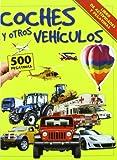 Coches y otros vehículos: Libro de actividades y pegatinas (Aprender, jugar y descubrir)