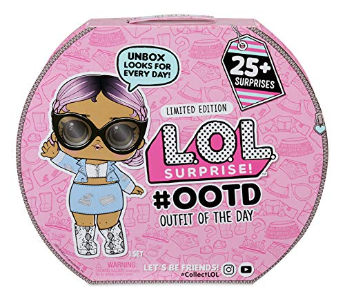 L.O.L. Surprise! 555742E7C Outfit of The Day Surprise Advent Calendar, Rosa
