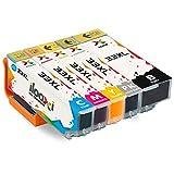 Ilooxi Kompatibel Epson 33XL Druckerpatronen mit Chip Hohe Kapazität Komp. mit Epson XP-530 XP-540 XP-630 XP-635 XP-640 XP-645 XP-830 XP-900 5-Pack