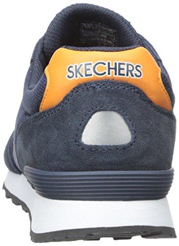 Skechers Og 85, Baskets Basses Homme bleu (NVOR)