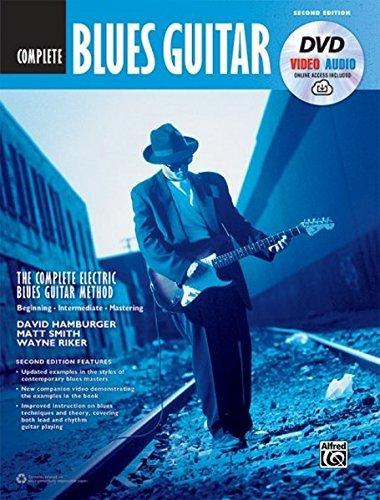 The Complete Blues Guitar Method Complete Edition: Book, DVD & Online Audio & Video (incluye codigo descargable) (Complete Method)
