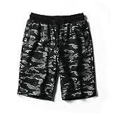 WDDGPZDK Strand Shorts/Sommer Mens Jogger Shorts Männer Abnehmen Bodybuilding Kurze Hosen Männlich Fitness Gummizug Hose 1045, Blau, XXL