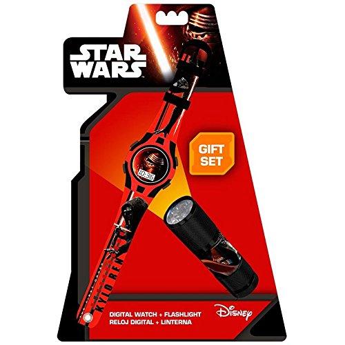 Star Wars-Set Uhr mit Taschenlampe (Kids Euroswan swe7054) - Für Wars Star Kids