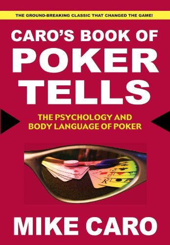 Mike caro poker tells italiano ebook how to make money playing roulette