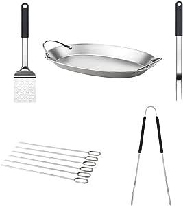 lebensmittelecht Unbekannt 2 x 6-er Set Grillspie/ße Ikea Sommar 2018 zw/ölf Edelstahl-Spie/ße Extra Lang sp/ülmaschinenfest 30cm