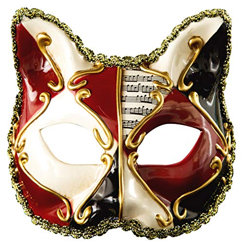 TUWEN Halloween Maske Venezianischen KäTzchen Maske Kind Kunststoff KostüM Party Maske Party Ideen