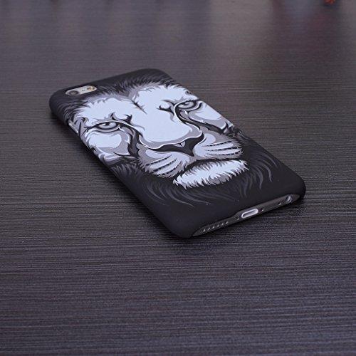 iPhone 5S Fall der Tiere, Muster Fall PC Hartschalen-Schutzhülle für iPhone 5s SE, 8, IPhone 6S Plus 2