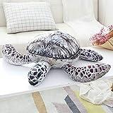 FEJK Tier Puppen Schöne Ozean Meeresschildkröte Plüschtiere Weiche Schildkröte Gefüllte Kissen Kissen Geschenke Für Kinder Kind 45 cm