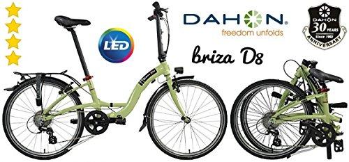DAHON Faltrad 24 BRIZA D8 8-Gang pale green - n e u -