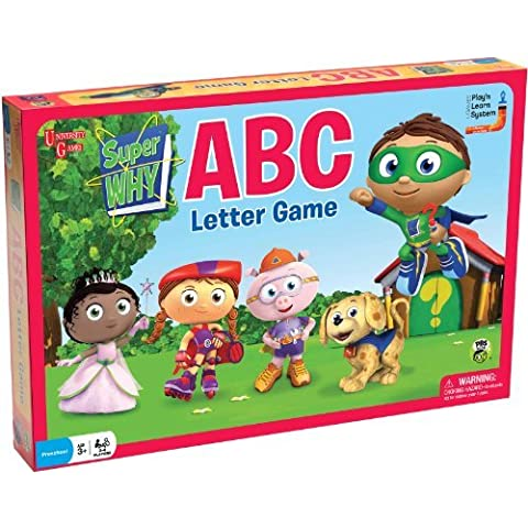 Super Why ABC Letter Game by University Games