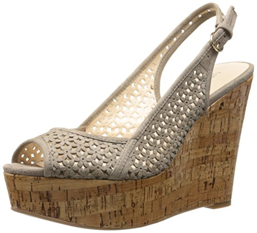 Nine West axey Wedge Pompe – Taupe Beige - Taupe