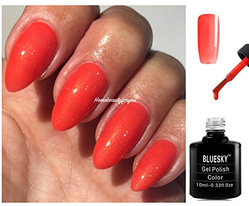 bluesky-80640-jelly-bracelet-coral-orange-new-wave-nail-gel-polish-uv-led-soak-off-10ml-plus-2-luvli