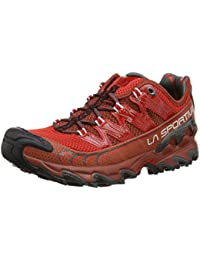 La Sportiva Ultra Raptor - Deportivos de running para hombre, color marrón / rojo, talla 42.5
