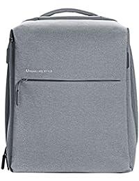 """Xiaomi Mi City Poliéster Gris Mochila - Mochila para Portátiles y netbooks (Poliéster, Gris, Monótono, Unisex, 33 cm (13""""), 35,6 cm (14""""))"""