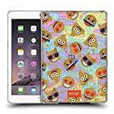 Head Case Designs Offizielle Emoji® Smiley Gold Pailletten Druck Soft Gel Hülle für iPad Air 2 (2014)