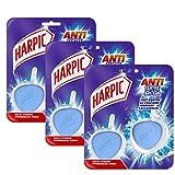 Harpic Pack de 2 Blocs Nettoyant WC Galet Hygiène Antitartre - Lot de 3
