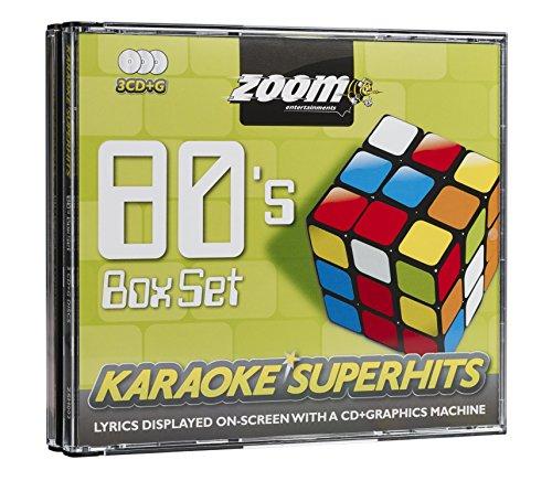 Zoom Karaoke CD+G - 80s Superhit...