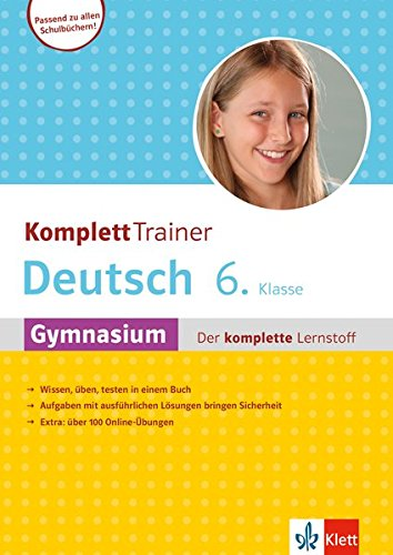 Klett KomplettTrainer Gymnasium Deutsch 6. Klasse: Der komplette Lernstoff