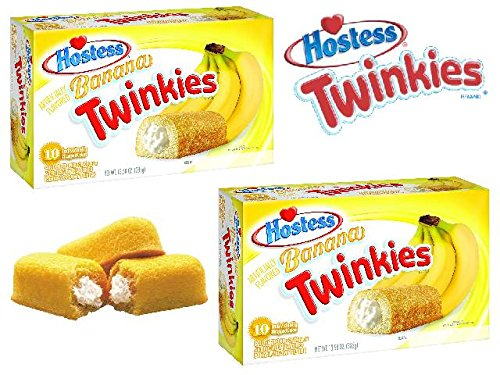 Twinkies Banana Twin Pack - 20 Cakes