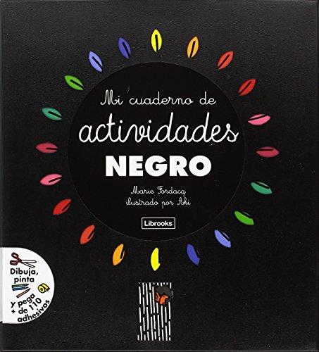 Mi cuaderno de actividades negro por Marie-Odile Fordacq