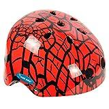 Ideale Casco per BMX Freestyle, Inliner, Skateboard, Multicolore, Lawa / rot, S (54 - 56 cm)