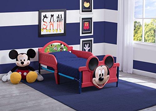 Delta Mickey Mouse Kleinkindbett (Rot) - 4