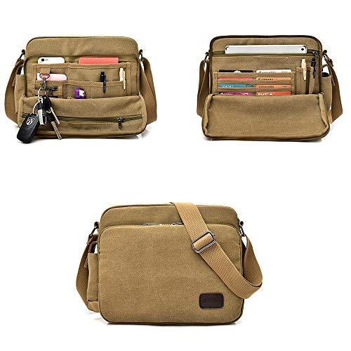 CX TECH 2019 neue leinwand umhängetasche, mode bookbag große größe militär aktentasche vintage schulranzen wasserdichte daypack umhängetaschen laptoptasche mehrere taschen