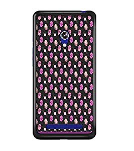 PrintDhaba Skull pattern D-1948 Back Case Cover for ASUS ZENFONE 5 A501CG (Multi-Coloured)