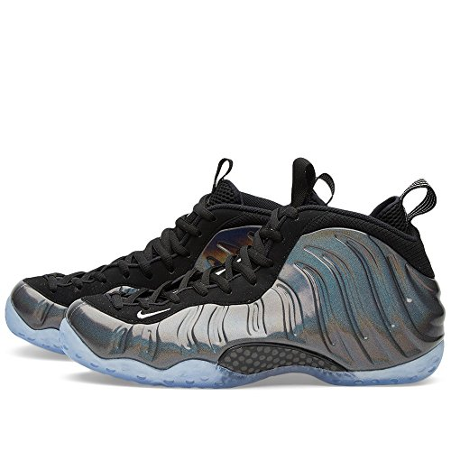Nike Air Foamposite One, Chaussures de Sport-Basketball Homme multi-color/mtllc silver-blk