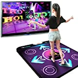 MOOUK USB Dancing Mat Non-Slip Dance Playmat Rhythm and Beat Game Dancing Step Pads for Fitness Dancing 94 x 82 x 1.1cm
