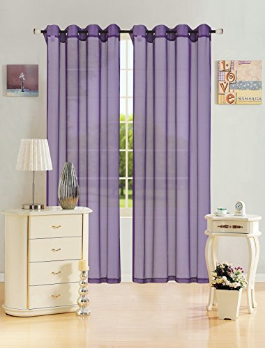 kashi-home-leah-collection-window-sheer-curtain-panel-55x-84-lightweight-solid-sheer-design-in-purpl
