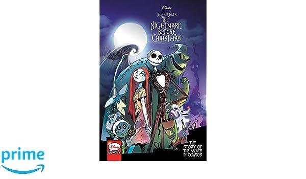 Tim Burton S The Nightmare Before Christmas The Story Of The Movie
