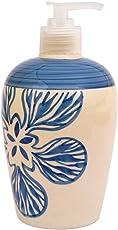 Sforzi Handmade Ceramic handwash Liquid soap Dispenser/Shampoo Dispenser/Lotion Dispenser/Gel Dispenser - 450 ML