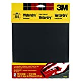 3M Wetordry Sandpaper, 9-Inch by 11-Inch, Assorted Grit, 5-Sheet by 3M