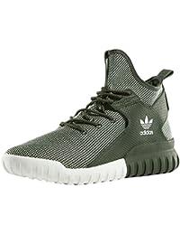 Adidas Daily - Zapatillas para Hombre, Color Azul Marino/Blanco/Verde, Talla 45 1/3