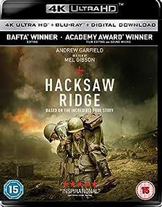 Hacksaw Ridge [Imported 4K UHD Blu-ray Region Free] [2017]