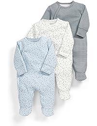 Mamas & Papas 3pk Core Aio-Blue, Polaina para Bebés